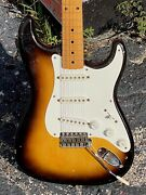 1956 Fender Stratocaster 35 Year Owned All Original V Neck And All Bakelite Parts
