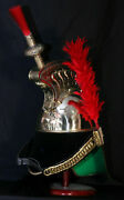 Brass French Cuirassier Officer's Helmet Napoleon Style Helmet W Stand Style New