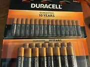 New Duracell Coppertop Alkaline Batteries One Pack Aaa16+one Pack Aa16