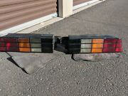 1982-92 Camaro Iroc Z-28 Tail Lights Pair Set With Wiring Harness + Mouldings