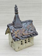 Windy Meadows Pottery Village Collection - Church - Hand Built Original
