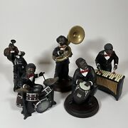 Lot Of Vintage 1990's Parastone Enesco All That Jazz Band Figurines Collectibles