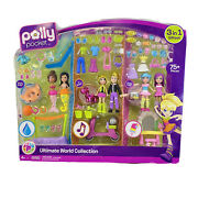 Polly Pocket The Ultimate World Collection New Open Box As Shown 3 In 1 Gift Set