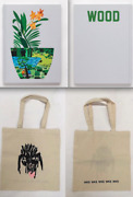 Jonas Wood Rare Book Paintings And Drawings First Edition Book + Doodle Tote Bag