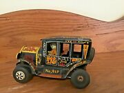 Vintage Marx Line Mar And039old Jalopyand039 Friction Tin Toy
