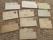 1920s Lot Of Us Covers With Slogans, Prevent Forest Fires, Red Cross, Navy, Army