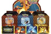 Pokemon Hidden Fates Factory Sealed - Gx Tin In Hand Fast Shipping