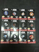 Funko Collectible Pinback Buttons - Classic Star Wars - Set Of 12 - New