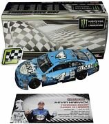 Autographed 2018 Kevin Harvick 4 Busch Loudon New Hampshire Win 1/24 Diecast