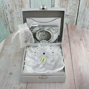 Waterford 1st Edition Crystal 2011 Snowflake Wishes Christmas Ornament With Box