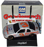 2x Signed 1995 Dale Earnhardt Sr 3 Gm Goodwrench Silver Select 1/24 Diecast Coa