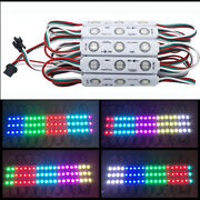 500x 12v Ws2811 Led Modules Dream Color Rgb 5050 Waterproof For Advertising Sign