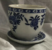 The Bailey Walker Vitrified China Restaurant Ware Custard Cup W Saucer Vintage