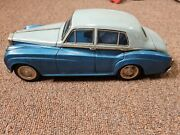 Vintage Rare Old Collectible Antique Rolls Royce Tin Toy Car