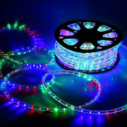 Delight 150ft Rgby 2 Wire 1620pcs Bulbs Led Rope Light Christmas Home Holiday