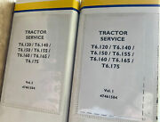 New Holland T6.120t6.140 T6.150 T6.155 T6.160 T6.165 Tractor Service Manual
