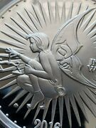 Giant 5 Oz Proof Silver Round - Ariana Grand W/ Cert Silverbugs Fairy Queen Hot