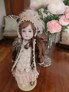 Antique Kestner 24 Doll In Excellent Condition, Rare Beautiful Clothes