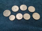 Canadian Commemorative And Collectable Coins From Canada 1967-2017 Lot Of 8
