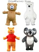 Inflatable Teddy Doll Costume Mascot Costume Suits Cosplay Party Game Dress
