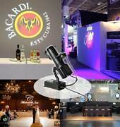 Us 30w Indoor Black Remote Control Led Gobo Projector Advertising Logo Light