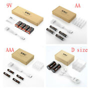 1.5v 9v D Cell Aa Aaa Usb Battery Lithium Li-po Rechargeable Batteries Lot