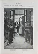 1902 Print Ringing In The New Year An Old Devonshire Custom