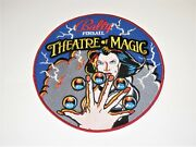 Theatre Of Magic Pinball Promo Patch - Given To Design Team Members - Rare