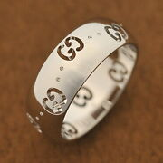 Ring Women And039s Mens Unisex Silver No.7 _4275