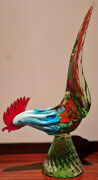 Vintage Murano Very Large Rooster/cockerel 50cm Height
