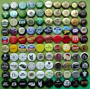 100 Beer Cider Soda Bottle Caps Not For Latin And South America
