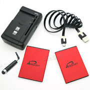 Acesoft 2x 5170mah Battery Travel Charger Cable For Samsung Galaxy S4 Mini S890l