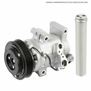 Oem Ac Compressor W/ A/c Clutch And Drier For Ford Focus 2012 2013 2014 2015