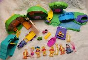 Winnie The Pooh Hundred Acre Wood Adventure Playset Vintage Collectible