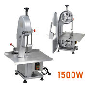Commercial Meat Bone Saw Frozen Meat Cutting Machine Electric Band Cutter 1500w