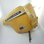 Mcculloch Outboard Engine Motor Cover Vtg Top 7.5 Hp 7 1/2 Hp Restoration Part