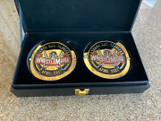 Wwe Wrestlemania 37 Title Belt Side Plates New Sold Out Roman Bad Bunny Nxt Aew