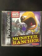Monster Rancher Sony Playstation 1, 1999 Complete