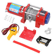 Car Recovery Electric Atv Trailer Truck Winch With 4500lb Rated Line Pull I2f0