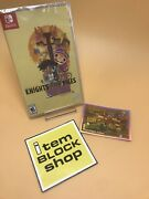 Knights And Bikes Nintendo Switch Limited Run Game. Sealed Unopened With Card.