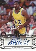 Magic Johnson 2016 Leaf Legends Sports Heroes Autograph 32 Lakers Signed Card
