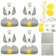 New For 03-06 Sea-doo Sportster 4-tec Gray+yellow+white Seat Covers Upholstery