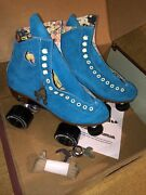 Discontinued Moxi Lolly Roller Skates Pool Blue New Mens 6 Women 7/7.5 Lollies