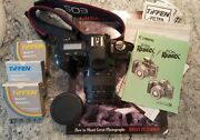 Canon Eos Rebelx S Film Camera Zoom Lens Ef 35-80mm + Strap Book Filters Manual