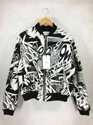 Celine Bomber Jacket Christian Marclay 19ss Printed Cotton Twi _75484