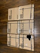 Sealed Rogue Fitness Fleck Bumper Plate Set - 370 Lb 10 15 25 35 45 And 55