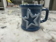 Dallas Cowboy Officially Licensed Nfl Collectible Mini Mug W/tag Look