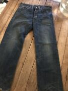 Rrl Double Rl Straight Leg Menand039 Jeans New Still Water Wash Japan Salvaged Blue