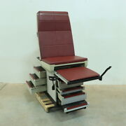 Midmark 404 Exam Table W/ Stirrups And Drawers