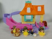 Fisher Price - Little People - Beauty And The Beast Klip Klop Cottage - Disney